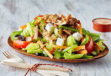 Mighty Meaty Doner Salad